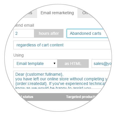 Integrated CartAbandonmentEmailRemarketing
