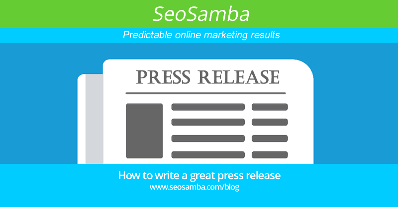 How to write a great PR (press release)