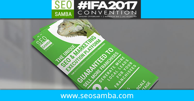 SeoSamba to reveal breakthrough franchise marketing & CRM software at IFA 2017 Las Vegas (Booth #134)