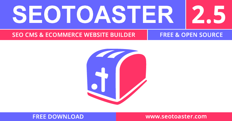 SeoToaster releases new CMS & eCommerce editions (v2.5)